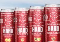 Black Cherry Hard Seltzer, Cucumber Hard Seltzer, Mango Seltzer