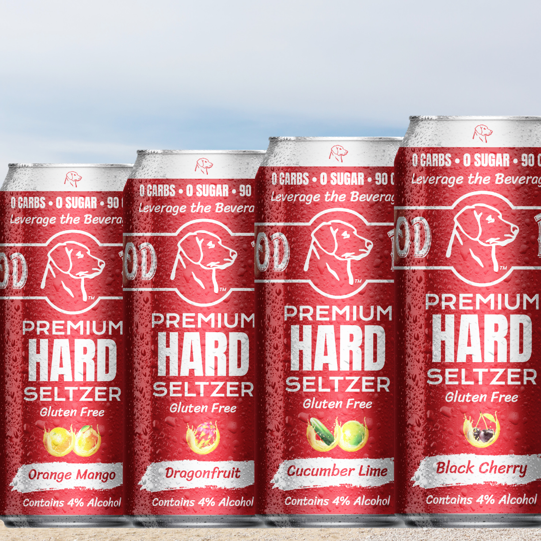 Announcing Our Good Dogg Premium Low Carb Hard Seltzer
