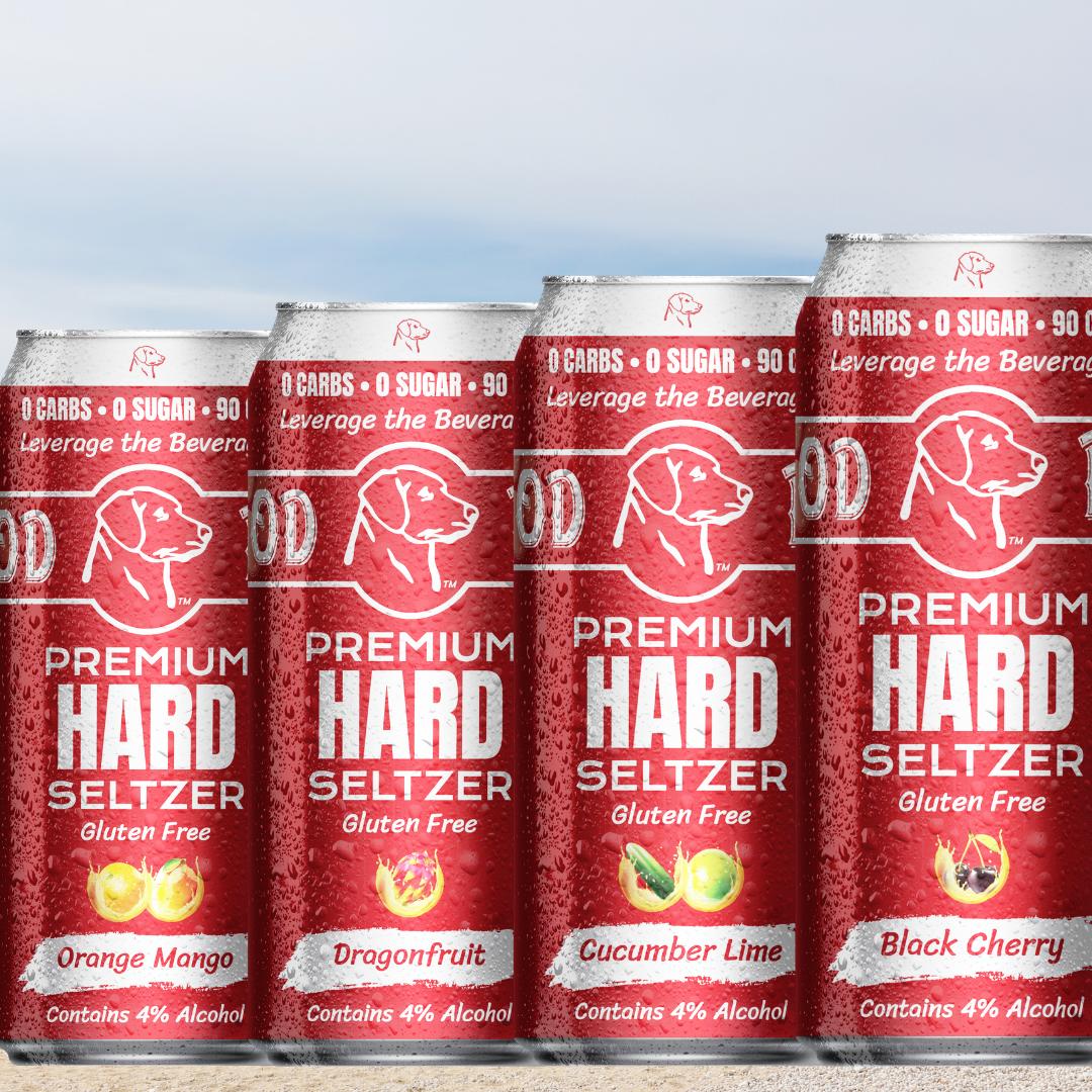 Announcing Our Good Dogg Premium Hard Seltzer